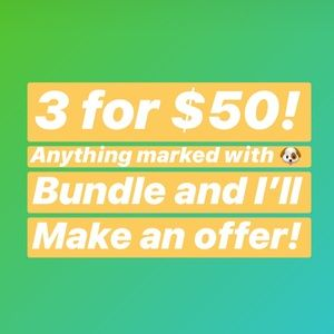 Other - 🐶 3 for $50 Sale! 🐶